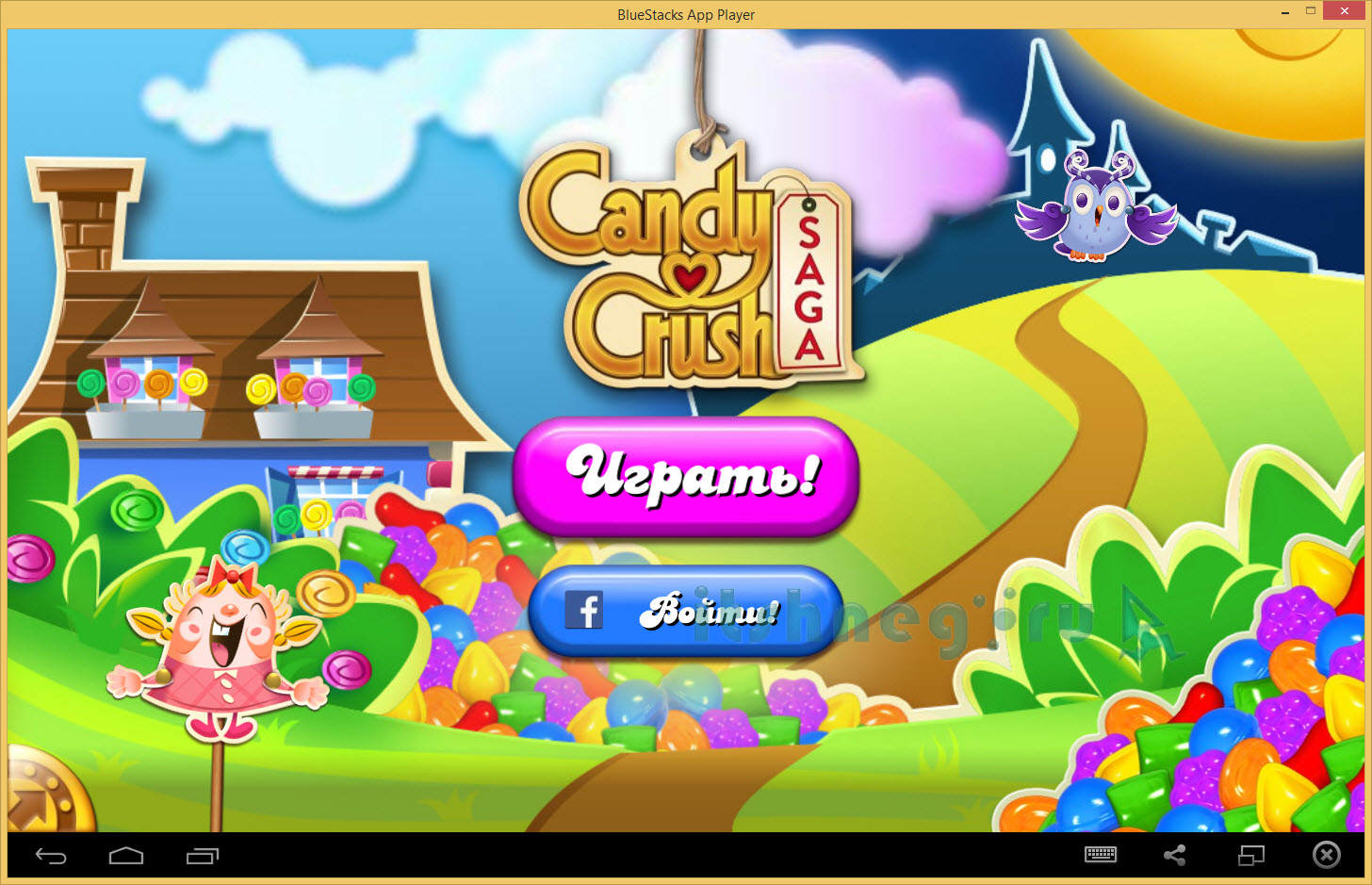 Candy Crush Saga для компьютера